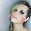 Deep purple (with glitters)