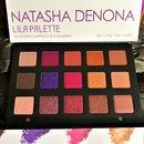 Right out of the box my Natasha Denona Lila palette
