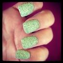 Caviar Pearls- Green Mint Color
