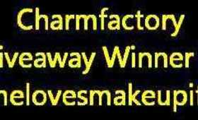 CharmFactory Giveaway Winner