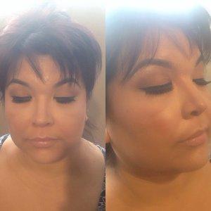 Client makeup by me.