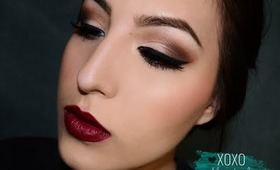 Christmas Party/Fall Makeup