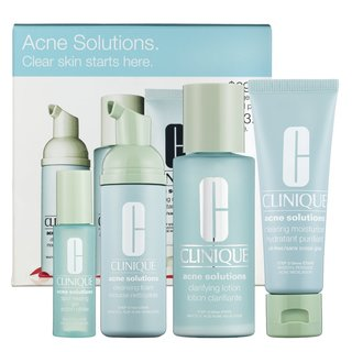 Clinique Acne Solutions. Clear Skin Starts Here