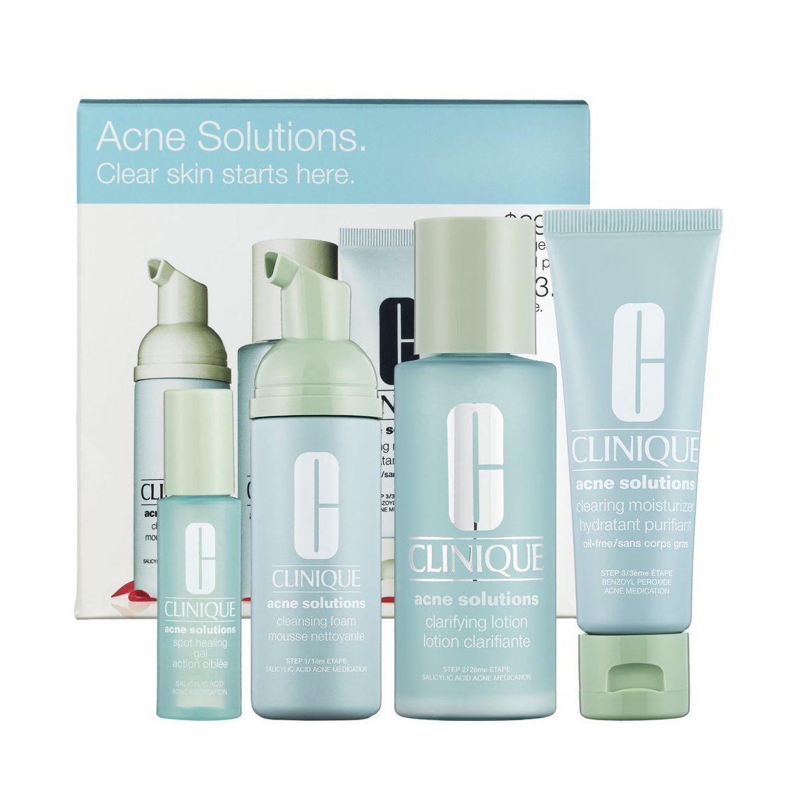 Acne Solutions Cleansing Foam by Clinique #11