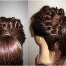 Braided Ponytail Short/ Medium Hair