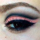 Peach Cut Crease :)
