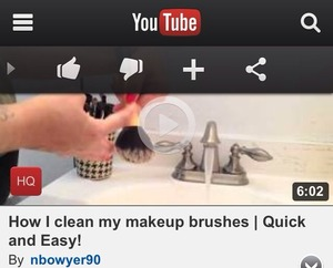 I just uploaded a video on how I clean my makeup brushes quickly and easily! Go check ittt 👇 Youtube.com/nbowyer90