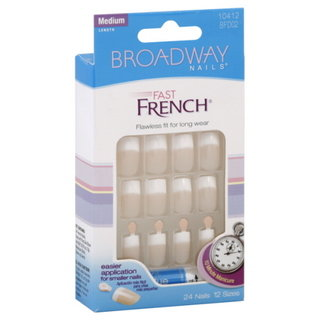 Broadway Nails Fast French