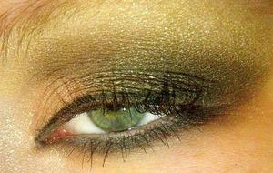 Lady Gaga US Cover Close Up Eye 1