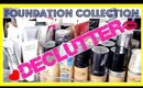 Makeup Collection Declutter & Organization: Foundations, Primers, BB Cream & CC Cream