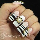 Black & White Series Elegant Nail Art Show New 135