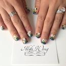Minion Nails by Heera