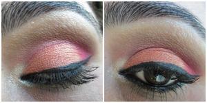 click here for tutorial http://www.srinjla.com/2013/11/30-days-eye-makeup-challenge-day30.html#.Uok6H6WXvwI