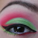 Watermelon inspired look