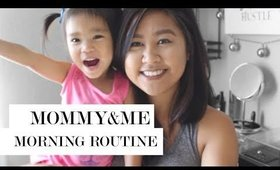 Quick Mommy Morning Routine | Toddler Morning Habits