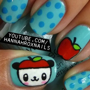 Tutorial at http://youtube.com/hannahroxnails :)