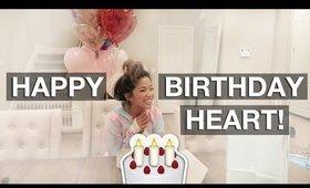 VLOG: HAPPY BIRTHDAY HEART! | yummiebitez