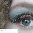 The Hunger Games series: District 3 makeup look