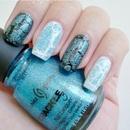 China Glaze Crackle Glitters - Gleam Me Up