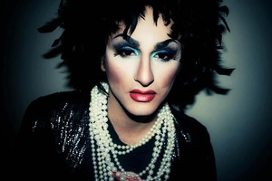 Turned my boyfriend into a drag queen.
