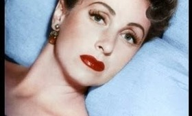 French Beauty Icon : Danielle Darrieux inspired make-up tutorial / Laetipro contest entry