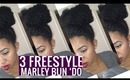 3 Freestyle Marley Bun Do's