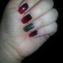 A different kind of Christmas manicure