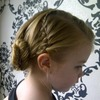 Waterfall and fishtail side bun
