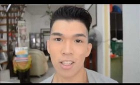 Foundation Tutorial (Routine) / Men Makeup