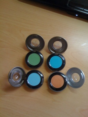 My New Urban Decay Eyeshadows :D