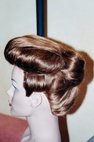 - be careful in sectioning hair - Hair padding must be the same thinckness on each side - finish on smoothing hair is all-important