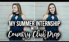 My Summer Internship with Country Club Prep