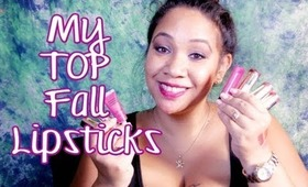 My TOP Fall Lipsticks and Lippies: Reds, Berries, Browns, Nudes | Honey Kahoohanohano