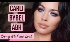 Carli Bybel ABH Palette Look ✨ Dewy Glowing Holiday Glam Makeup Tutorial