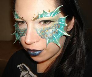 fishy masquerade look