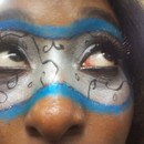 Mardi Gras Theme Close Up
