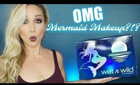 OMG MERMAID MAKEUP? | TESTING THE *NEW* WET N WILD LIMITED COLLECTION