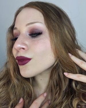 Valentine's Day vibes, with products under $15.00. All drugstore ;) http://theyeballqueen.blogspot.com/2017/02/valentines-day-sultry-reddish-plum.html