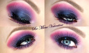 V-Day Smokey Eye