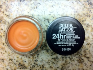 Maybelline's Color Tattoo - Fierce & Tangy