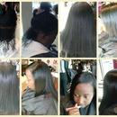 silk warp on natural hair