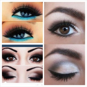 Makeup To Wear With A Black And White Long Dress Beautylish