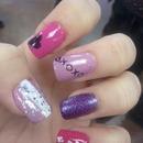 v day nails