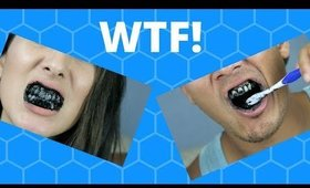 CHARCOAL TOOTHPASTE?! CARBON COCO TEETH WHITENING REVIEW