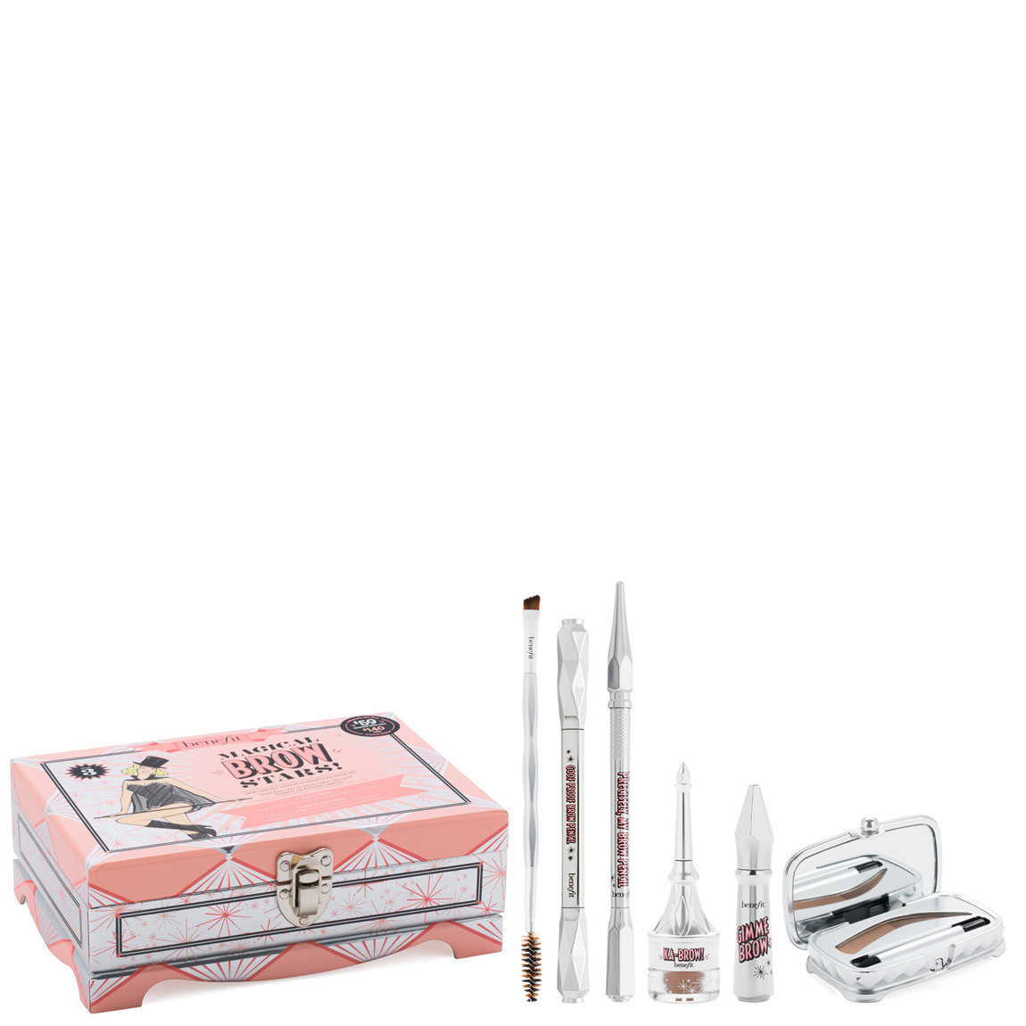 Benefit Cosmetics Magical Brow Stars Set Shade 3 product smear.
