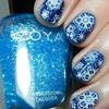 Zoya Snowy Nails