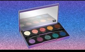 Urban Decay Afterdark Eyeshadow Palette REVIEW-TUTORIAL