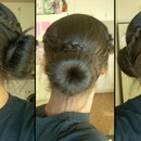 Braids Into Bun
