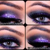 Midnight Purple Glam