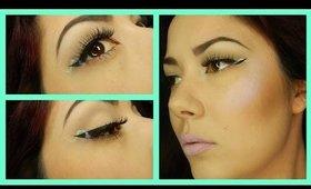 Helix Eyeliner Trend Tutorial